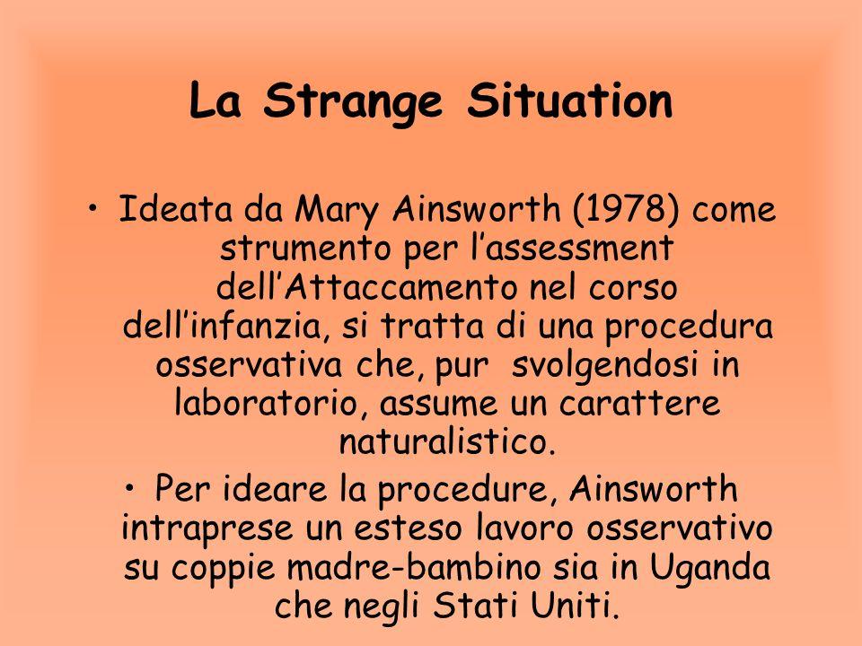 La Strange Situation