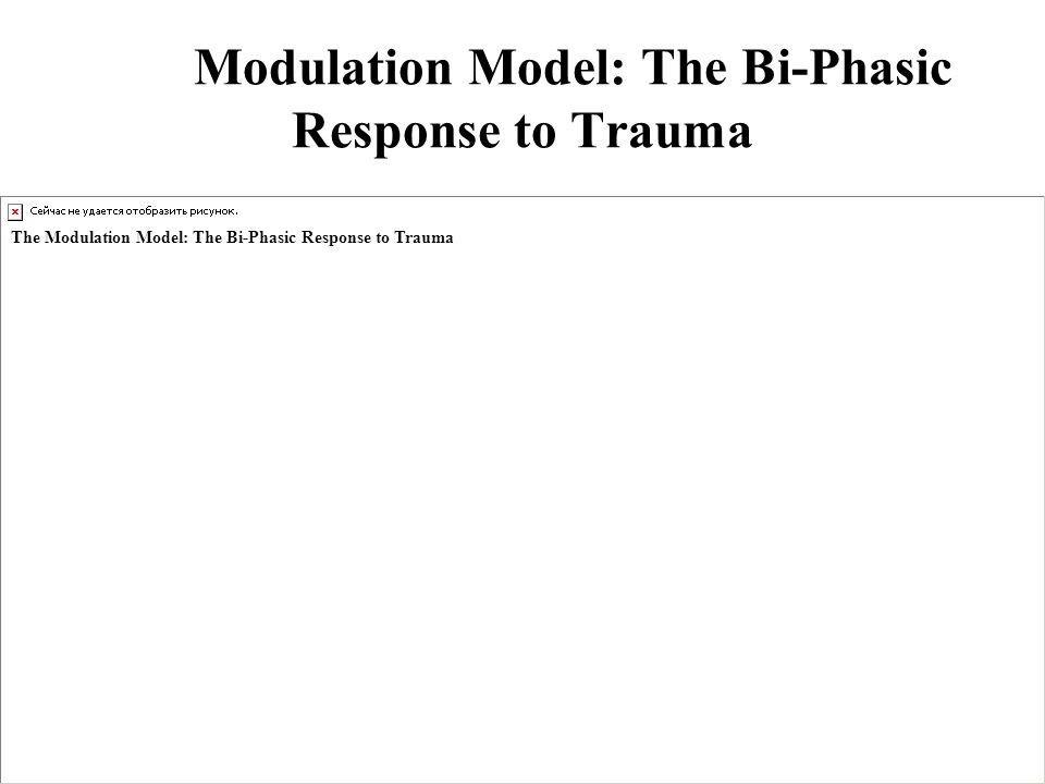 The Modulation Model: The Bi-Phasic Response to Trauma