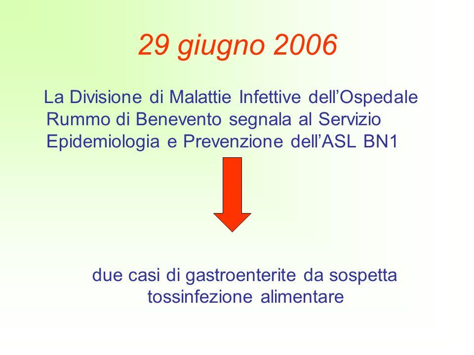 due casi di gastroenterite da sospetta tossinfezione alimentare