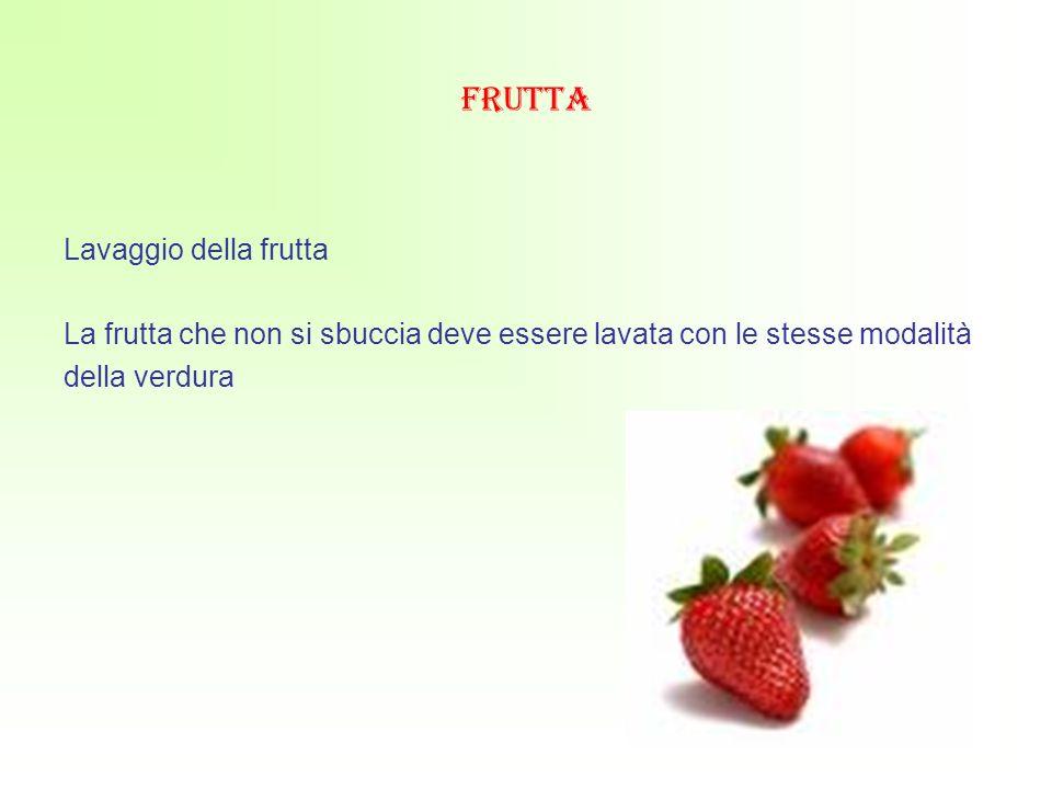 frutta Lavaggio della frutta