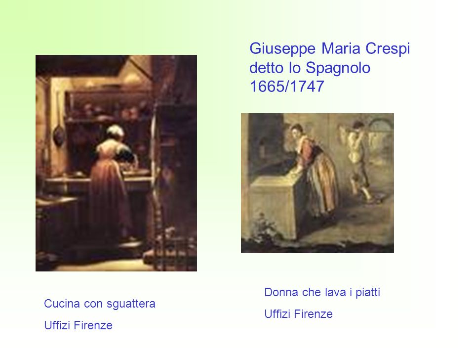 Giuseppe Maria Crespi detto lo Spagnolo 1665/1747