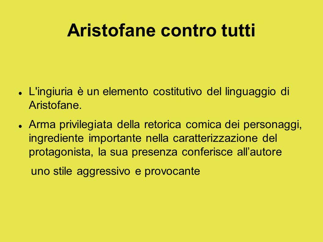 Aristofane contro tutti