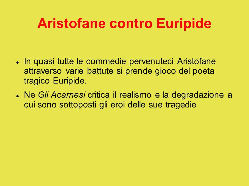 Aristofane contro Euripide