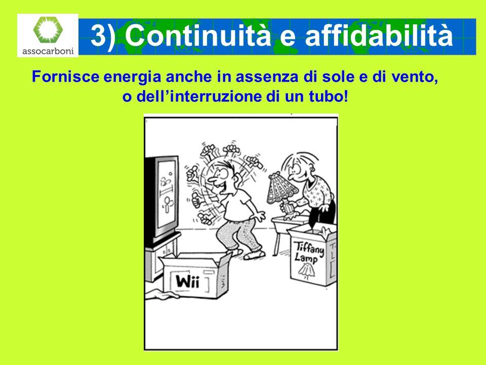 3) Continuità e affidabilità