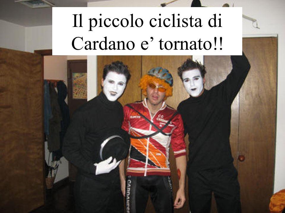 Il piccolo ciclista di Cardano e' tornato!!