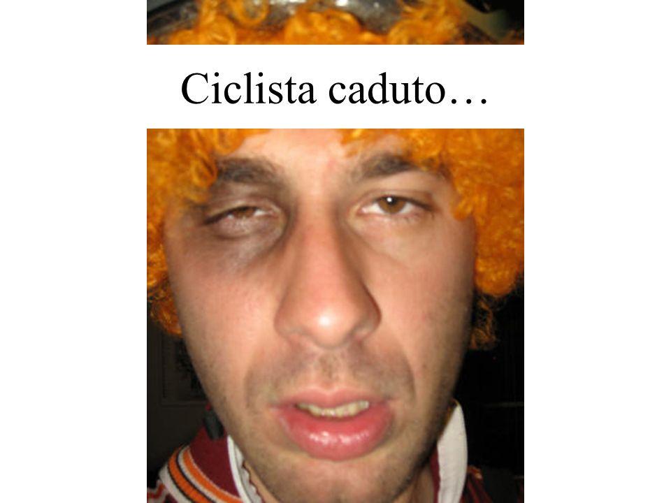 Ciclista caduto…