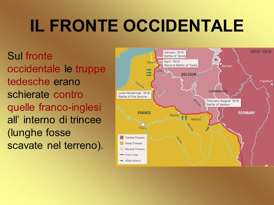 IL FRONTE OCCIDENTALE