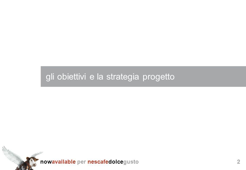 gli obiettivi e la strategia progetto
