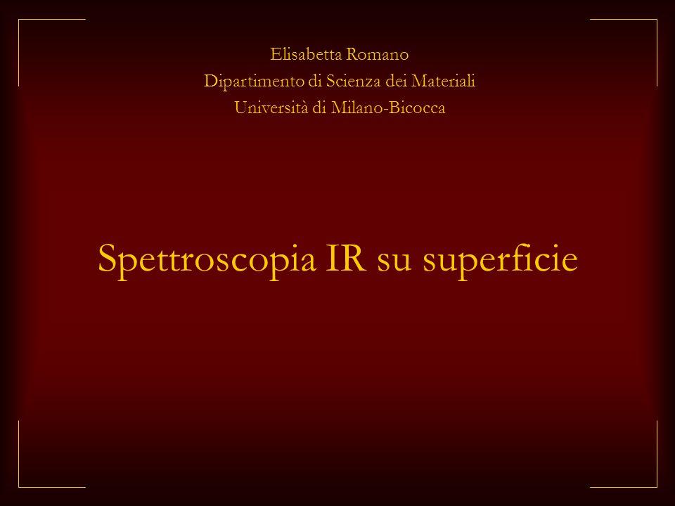 Spettroscopia IR su superficie