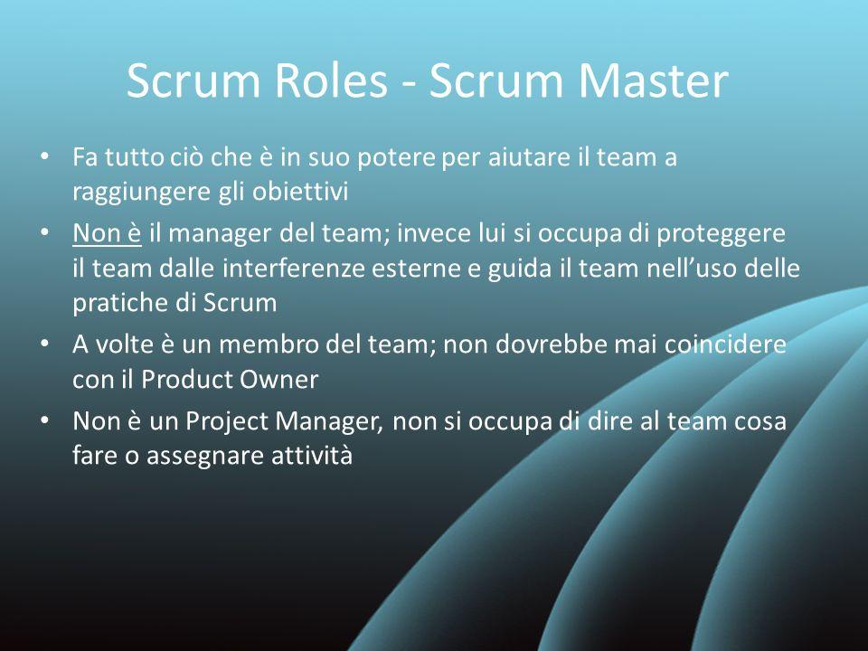Scrum Roles - Scrum Master