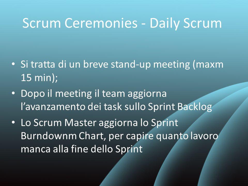 Scrum Ceremonies - Daily Scrum