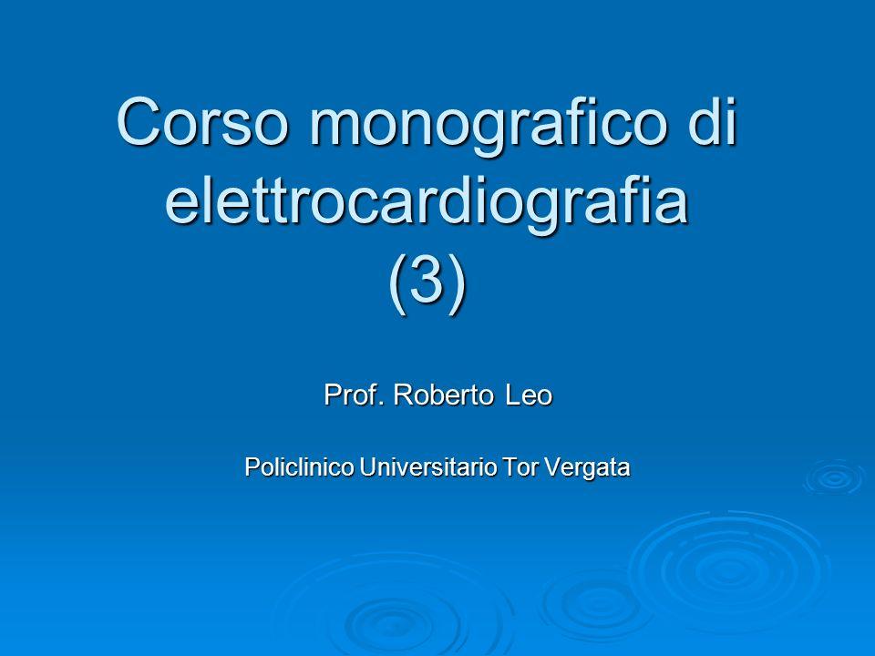 Corso monografico di elettrocardiografia (3)