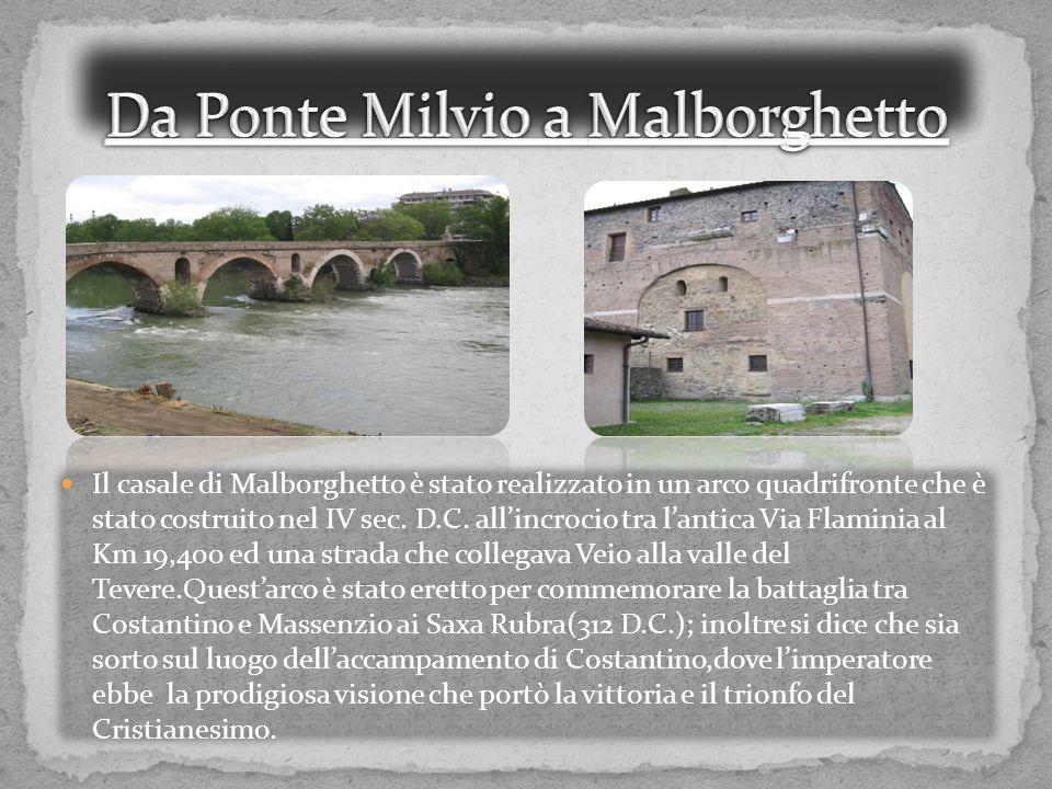 Da Ponte Milvio a Malborghetto