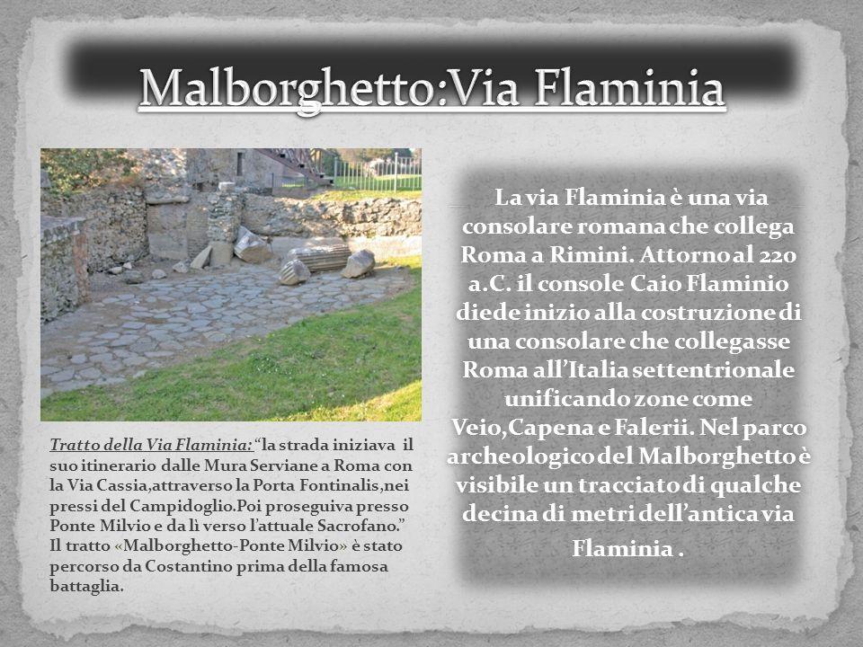 Malborghetto:Via Flaminia