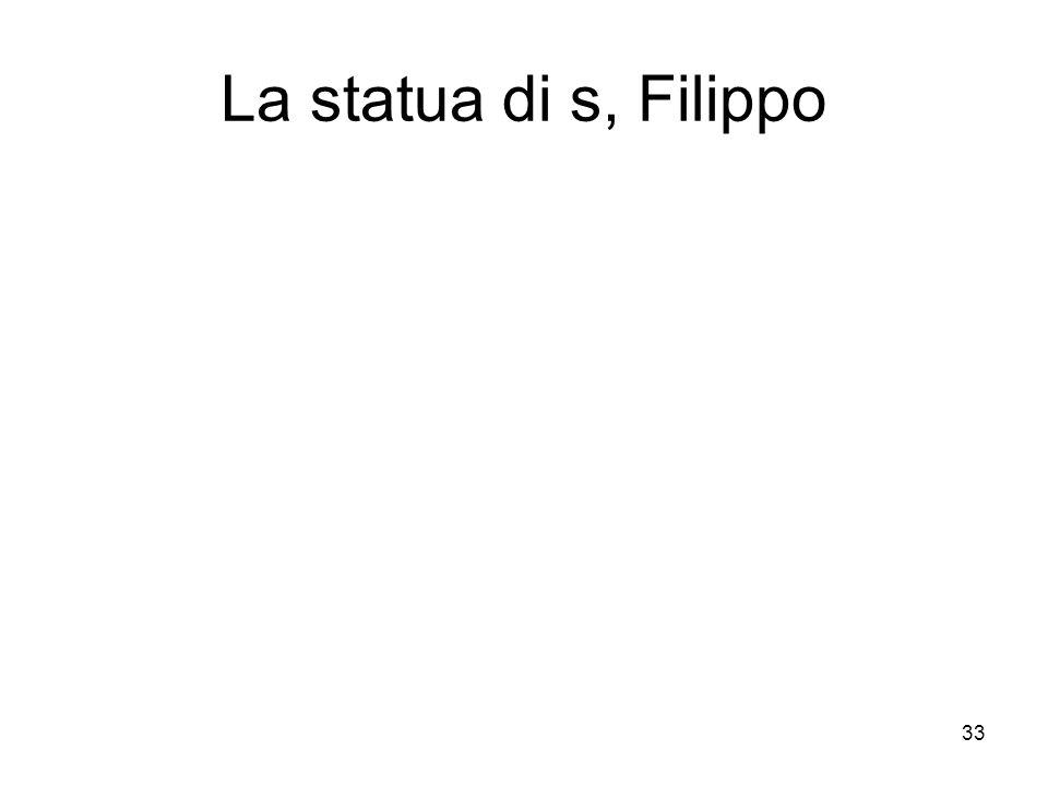 La statua di s, Filippo