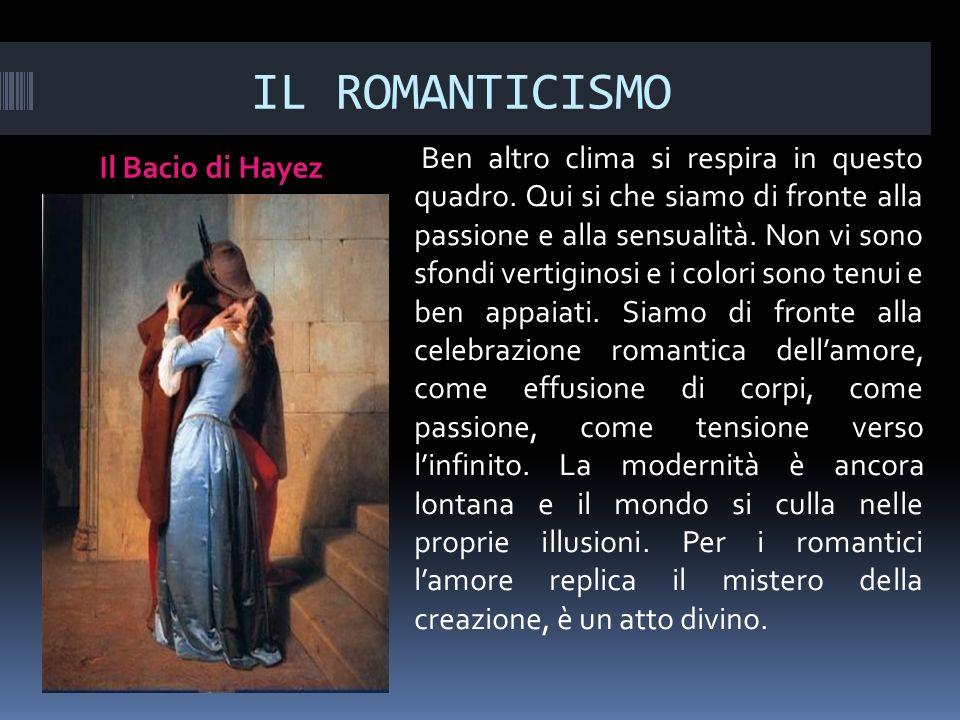 IL ROMANTICISMO Il Bacio di Hayez.