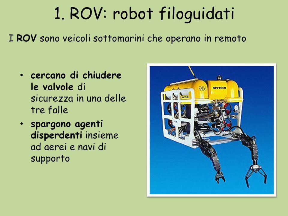 1. ROV: robot filoguidati
