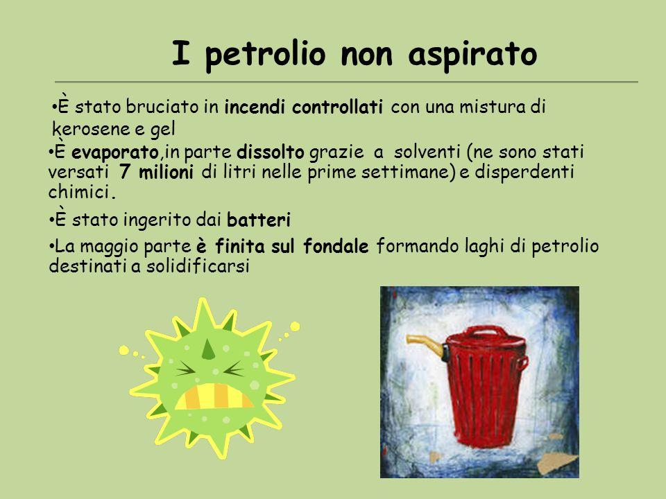 I petrolio non aspirato