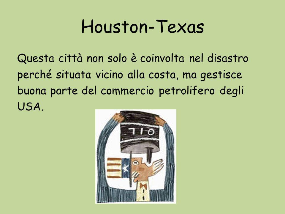 Houston-Texas Questa città non solo è coinvolta nel disastro