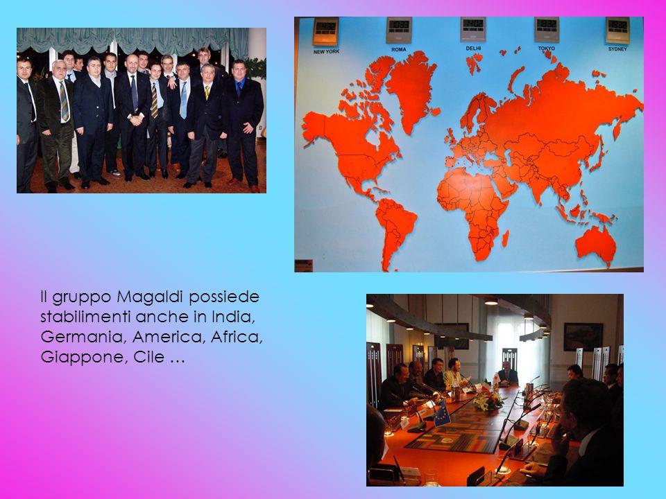 Il gruppo Magaldi possiede stabilimenti anche in India, Germania, America, Africa, Giappone, Cile …