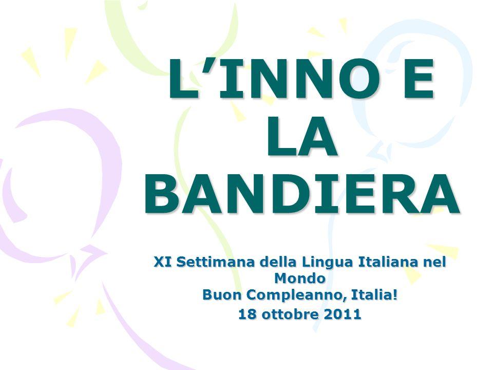 XI Settimana della Lingua Italiana nel Mondo Buon Compleanno, Italia!