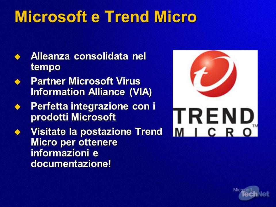 Microsoft e Trend Micro