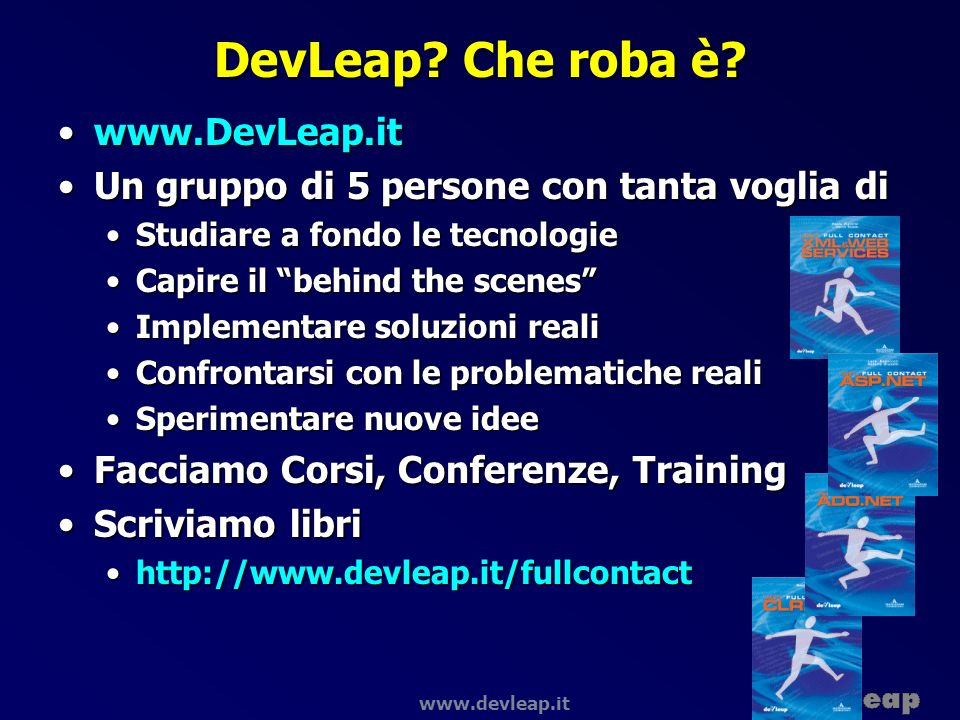 DevLeap Che roba è www.DevLeap.it