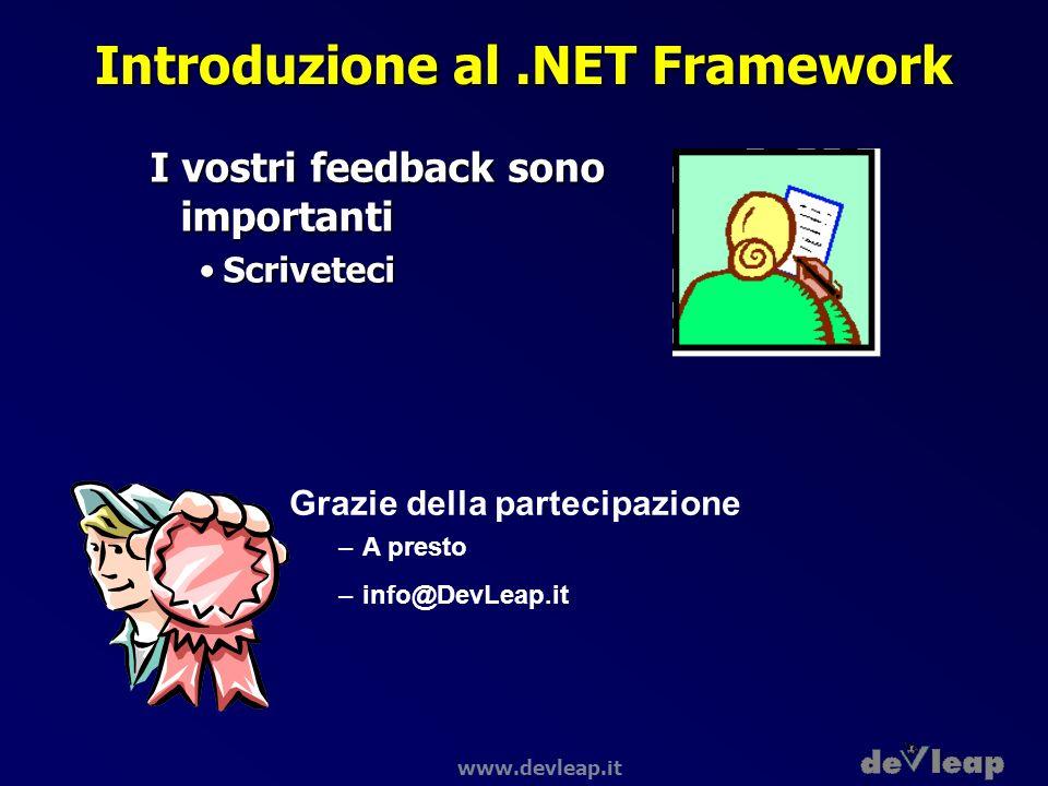 Introduzione al .NET Framework