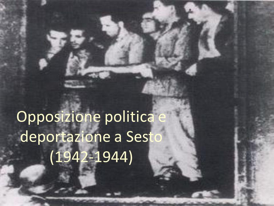 Opposizione politica e deportazione a Sesto (1942-1944)