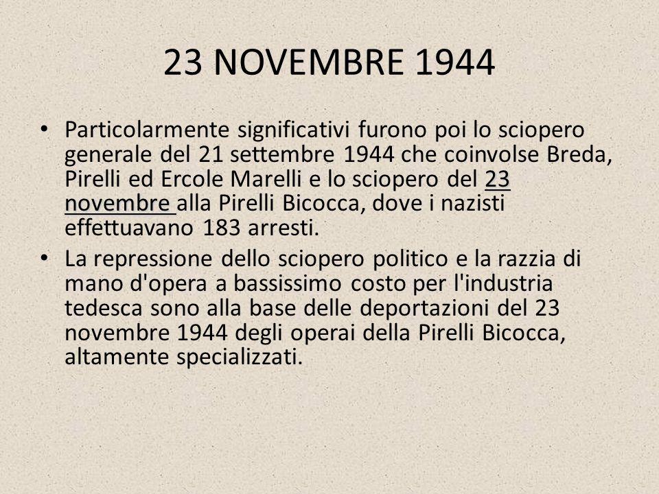 23 NOVEMBRE 1944