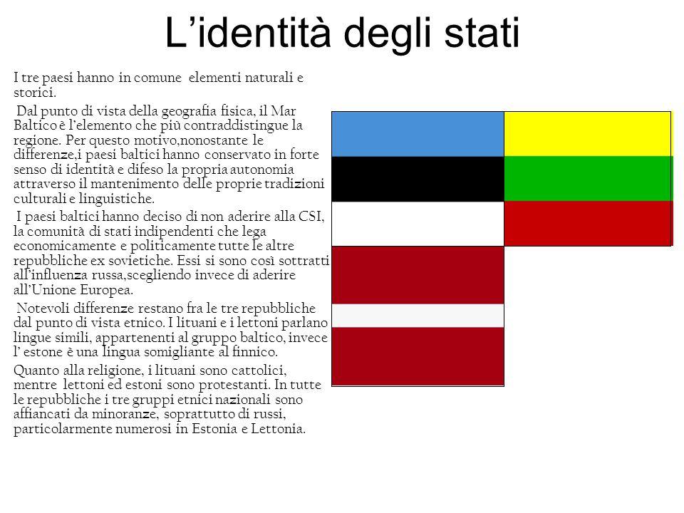 L'identità degli stati