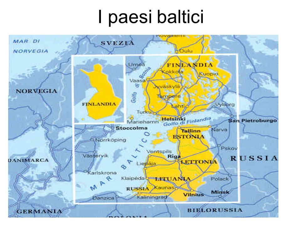 I paesi baltici