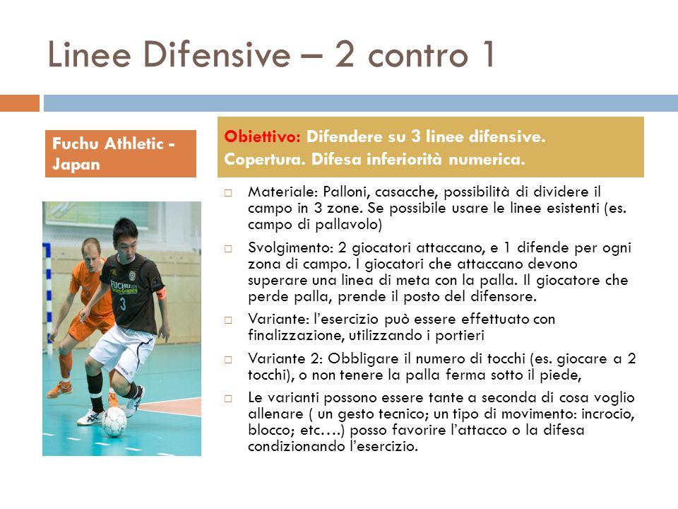 Linee Difensive – 2 contro 1