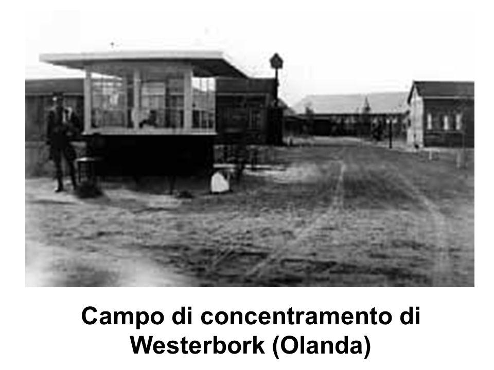 Campo di concentramento di Westerbork (Olanda)