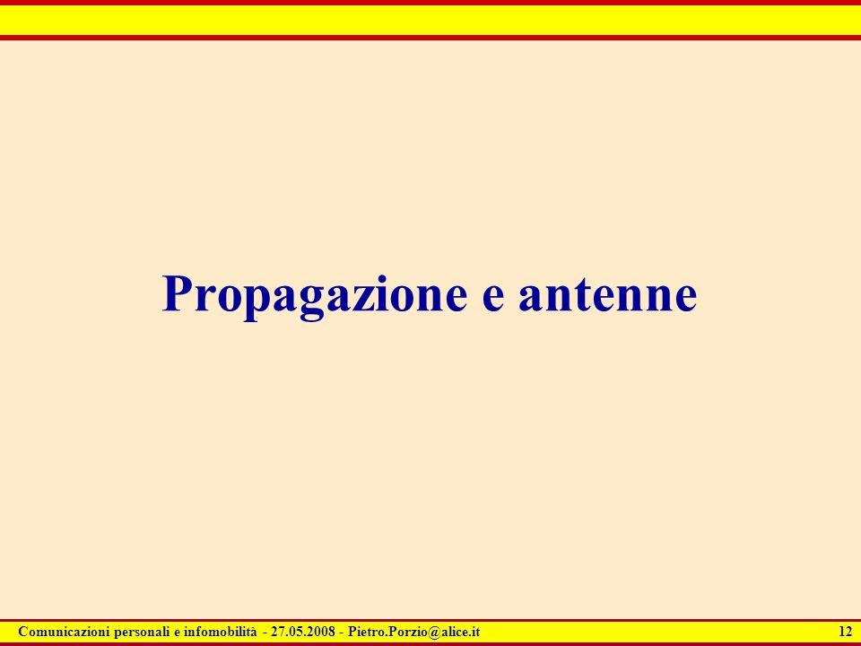 Propagazione e antenne