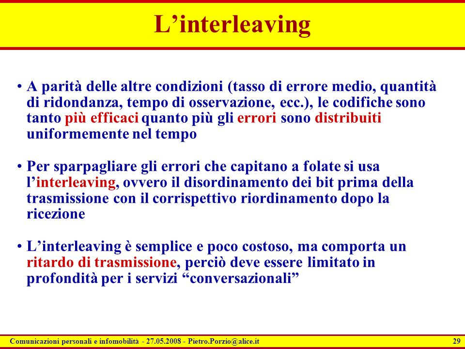 L'interleaving