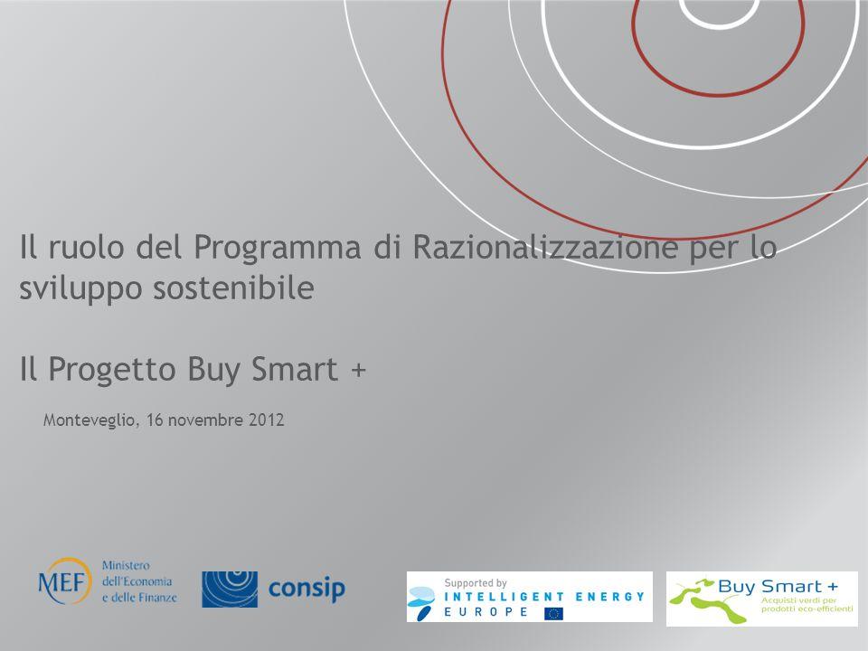 Il ruolo del Programma di Razionalizzazione per lo sviluppo sostenibile