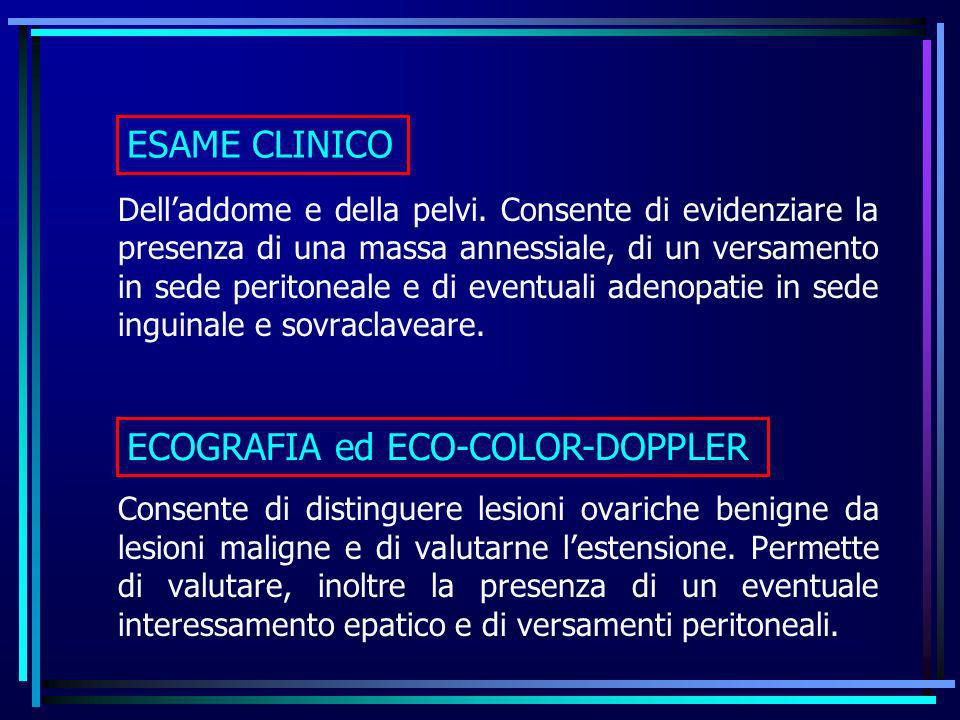 ECOGRAFIA ed ECO-COLOR-DOPPLER