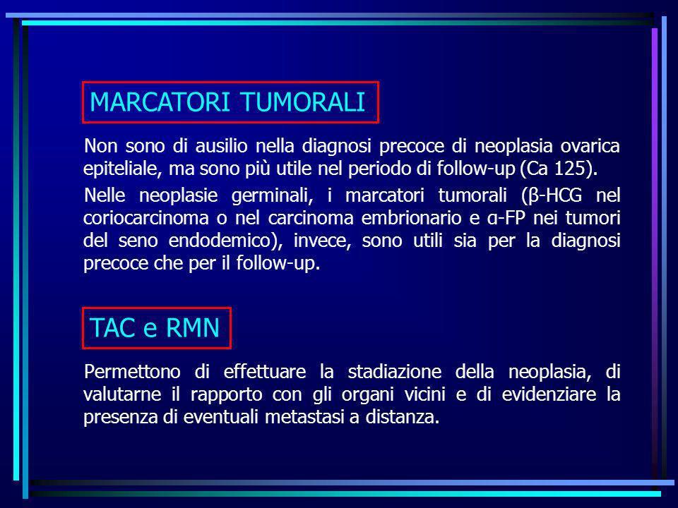 MARCATORI TUMORALI TAC e RMN