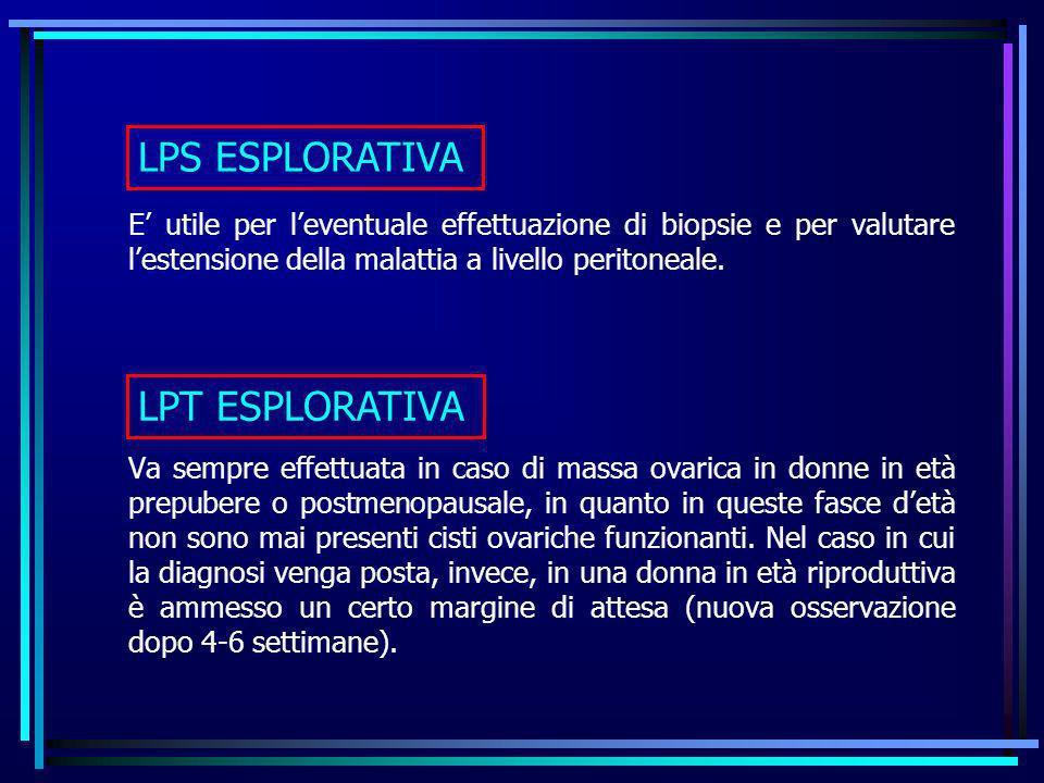 LPS ESPLORATIVA LPT ESPLORATIVA