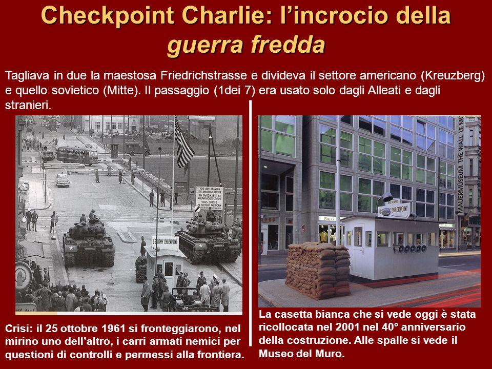 Checkpoint Charlie: l'incrocio della guerra fredda