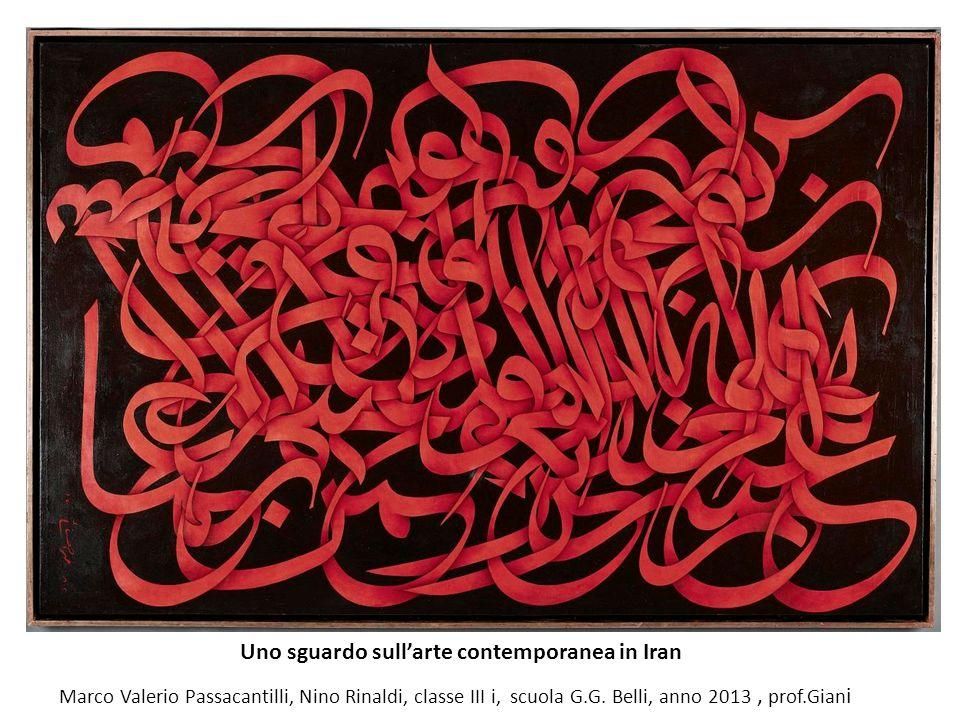 Uno sguardo sull'arte contemporanea in Iran