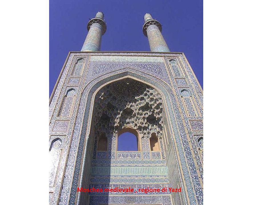 Moschea medievale , regione di Yazd