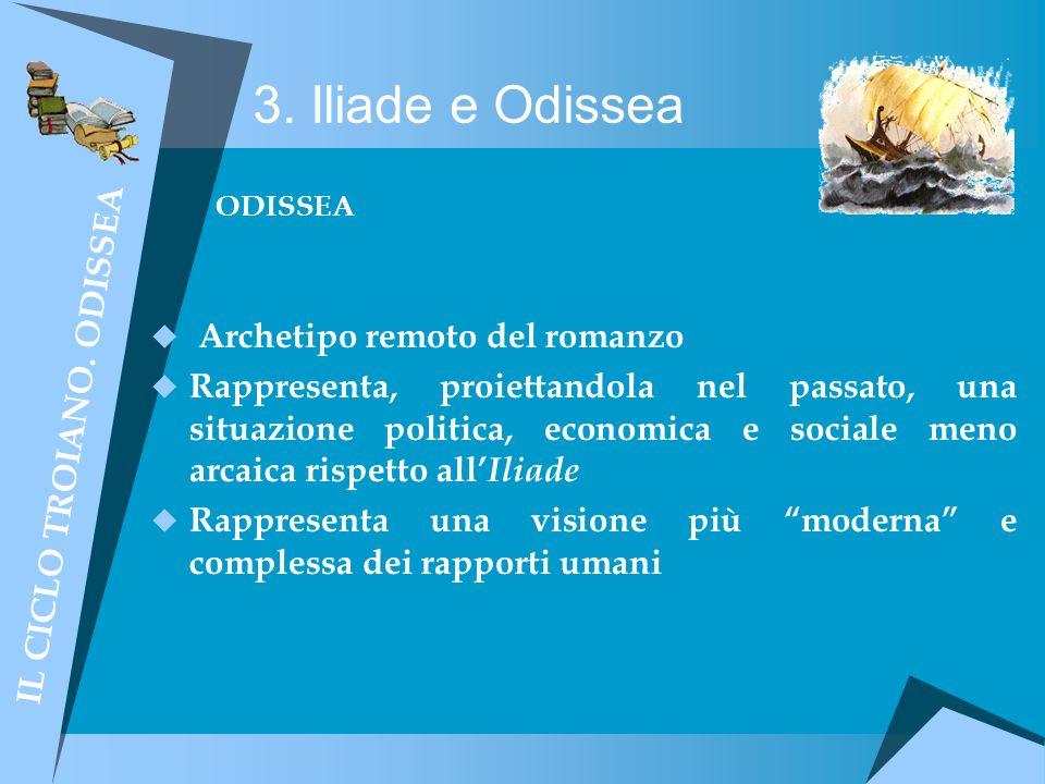 IL CICLO TROIANO. ODISSEA