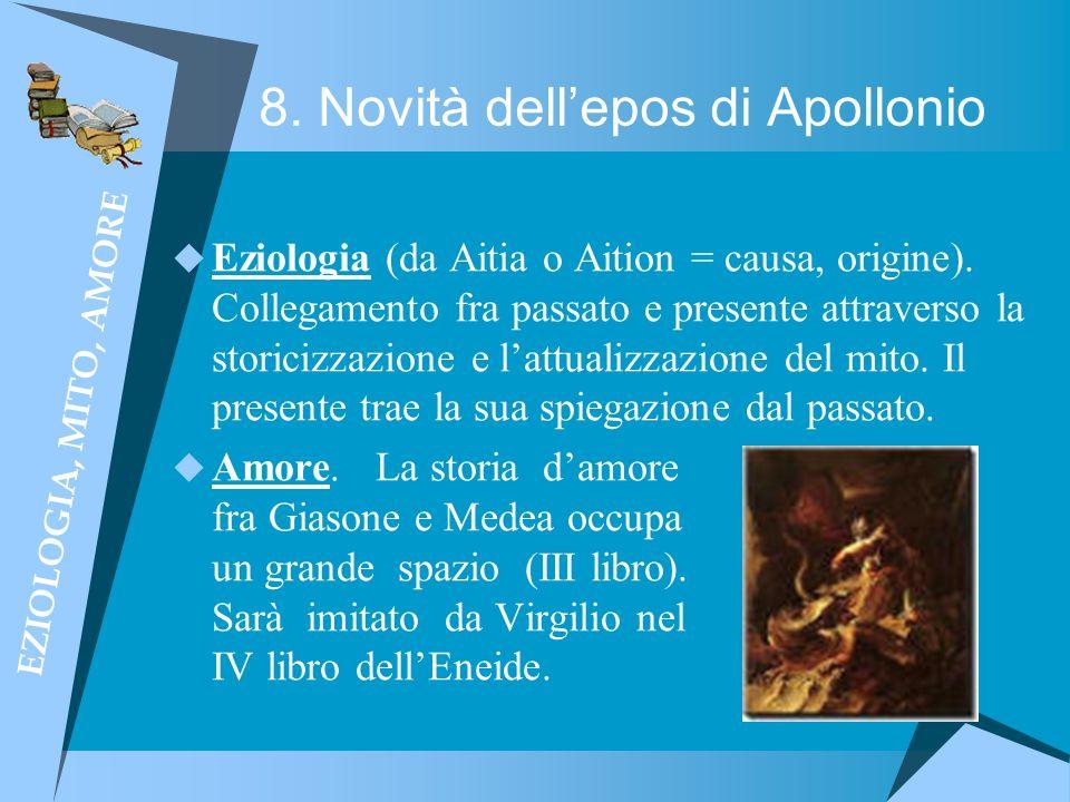 8. Novità dell'epos di Apollonio