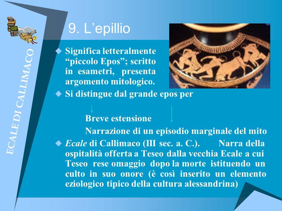 9. L'epillio