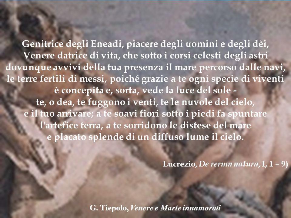 G. Tiepolo, Venere e Marte innamorati