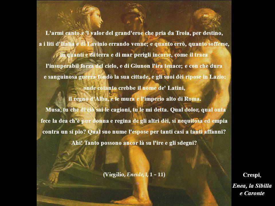 L armi canto e l valor del grand eroe che pria da Troia, per destino,