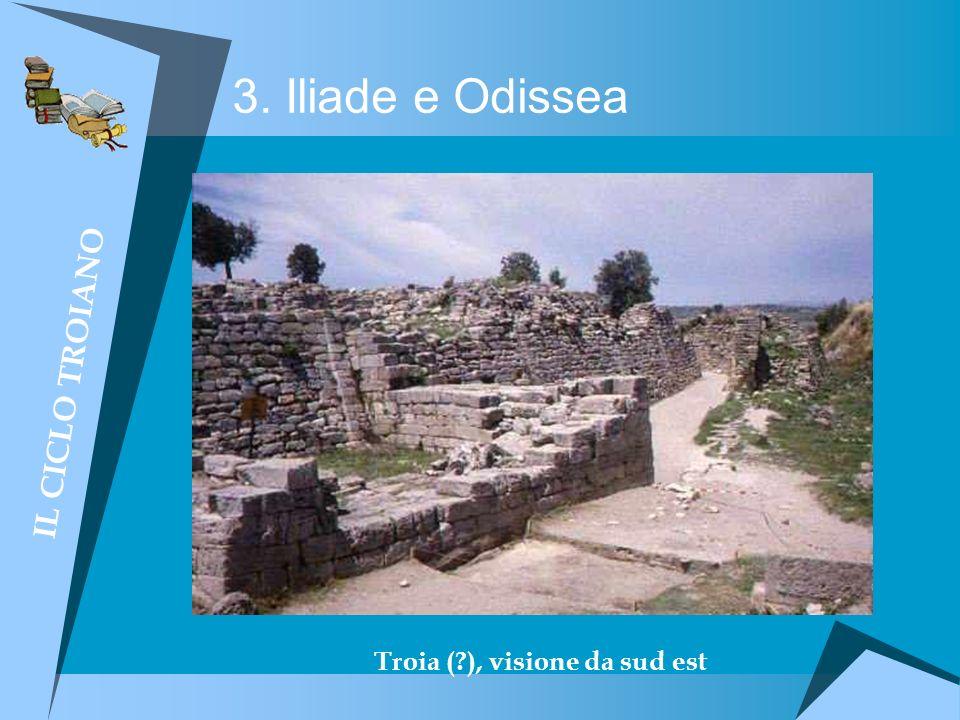 Troia ( ), visione da sud est
