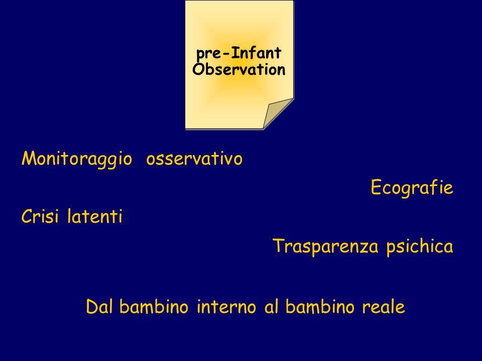 pre-Infant Observation